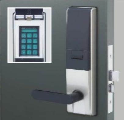 オートロック式ドア設置